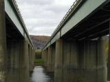 I-84 bridges over the Delaware River.
