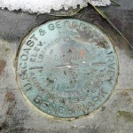 NGS Bench Mark Disk HALLSTEAD