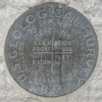USGS Bench Mark Disk 867 USGS