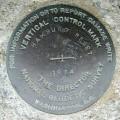 NGS Vertical Control Mark HAMBURG RESET 1974