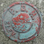 PDH Survey Mark 509 PADH