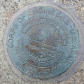 Army Corps of Engineers Survey Mark MARKET