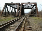 The D&H railroad bridges—nearly 100 years old!