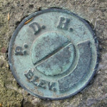 PA Dept. of Highways Elevation Mark