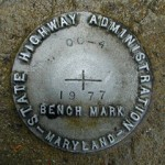 MDDOT Bench Mark Disk OC 4