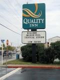 The Quality Inn sign