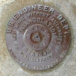 U.S. Engineers Triangulation Station Disk SPEICHER