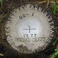 MDDOT Bench Mark Disk OC 1