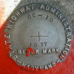 MDDOT Bench Mark Disk OC 10