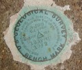 USGS Bench Mark Disk 8 JNP