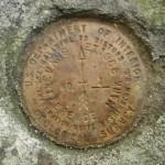 USGS Reference Mark Disk EVANS ET RM 1