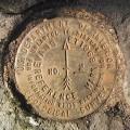 USGS Reference Mark Disk EVANS ET RM 2