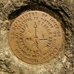 USGS Reference Mark Disk CLIFF ET RM 1