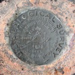 USGS Survey Mark DLW