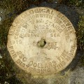 USGS Bench Mark Disk PTS 22