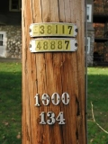 Powerpole ID numbers.