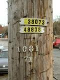 Powerpole ID numbers.