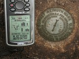 GPSr and the azimuth mark.