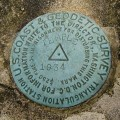 NGS Triangulation Station Disk TEMPLE