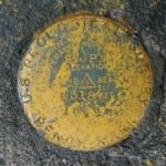 USGS Bench Mark Disk 24 JPN