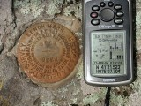 GPSr and the station mark.