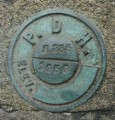PA Dept. of Highways Survey Mark N 235