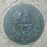NJGS Tidal Bench Mark Disk 27659