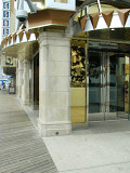 The casino entranceway at the boardwalk and Pennsylvania Avenue.