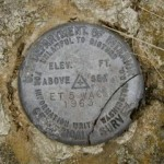 USGS Electronic Traverse Station Disk ET 6 WAC