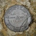 USGS Electronic Traverse Station Disk ET 6 WAC
