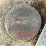 USGS Bench Mark Disk PTS 1 Y
