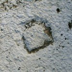 PennDOT Chiseled Square BM DUNMORE RESERVOIR 3