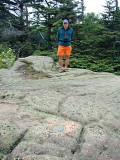 Looking S. Rich stands at PE1778, MOUNT DESERT RESET.