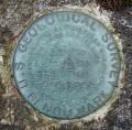 USGS Bench Mark Disk K 23