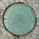 USGS Bench Mark Disk K 22