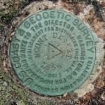 NGS Triangulation Station Disk MOUNT DESERT RESET