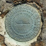 USGS Reference Mark Disk GREAT HEAD RM 1