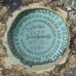 NGS Reference Mark Disk SAVAGE MOUNTAIN RM 2