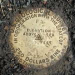 USGS Bench Mark Disk 15 C