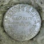 USGS Bench Mark Disk 212 LRP
