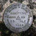 USGS Bench Mark Disk 25 HLZ