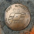 Port Authority Trans-Hudson Survey Mark CD