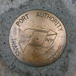 Port Authority Trans-Hudson Survey Mark CL