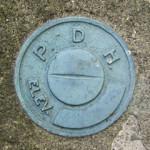 PA Dept. of Highways Elevation Mark