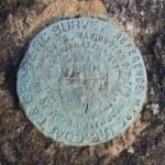 NGS Reference Mark Disk BULL HILL RM 1