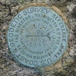 NGS Reference Mark Disk BULL HILL RM 2