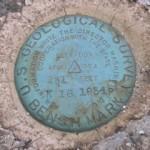 USGS Bench Mark Disk K 18