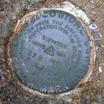 USGS Bench Mark Disk K 9