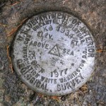 USGS Bench Mark Disk K 8 USGS RESET 1977