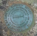 NGS Reference Mark Disk RICHARDSON RM 1